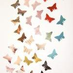 300 Colorful Butterflies, ..