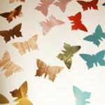 300 colorful butterflies, c..