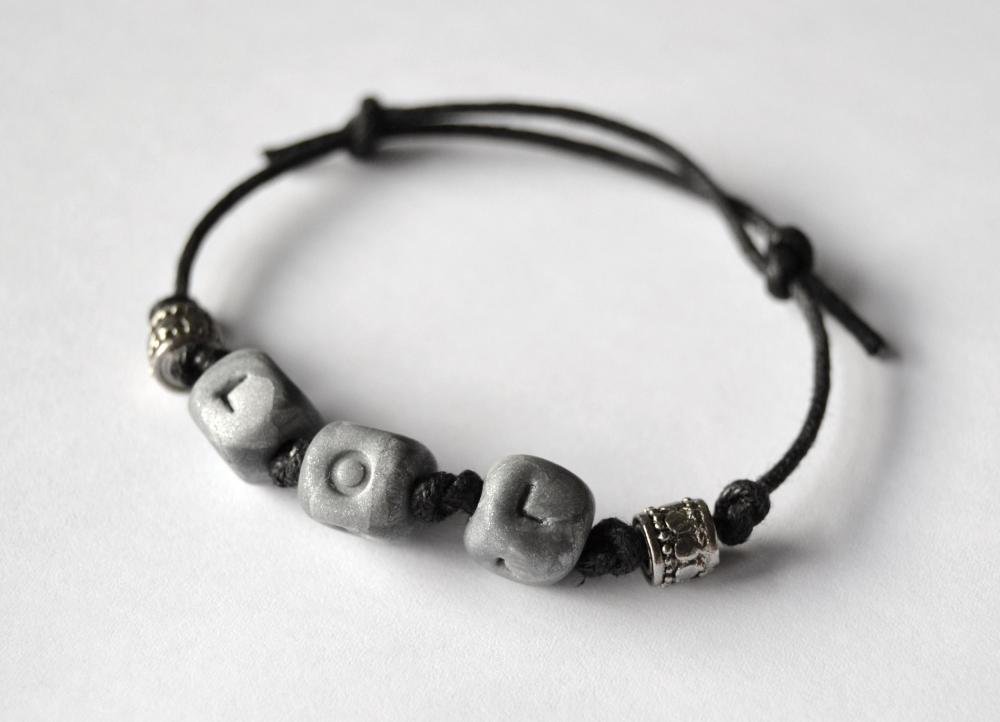 LOL bracelet for geeky nerdy people - unisex